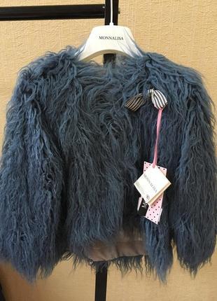 Шубка monnalisa оригинал италия куртка