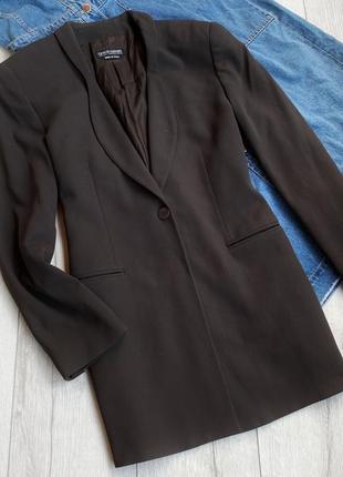 Удлиненный пиджак,джемпер