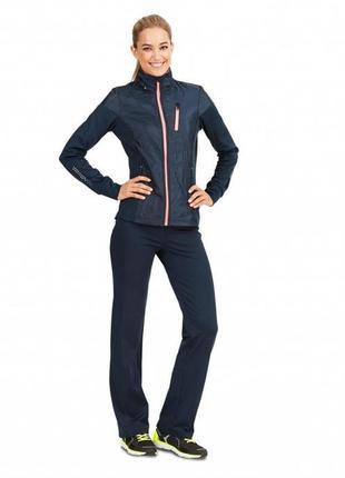 Спортивная куртка  кофта женская tchibo active (германия) 52-541 фото