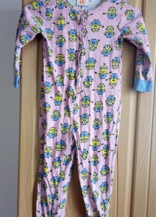 Пижама. кигуруми  пижама слип миньон