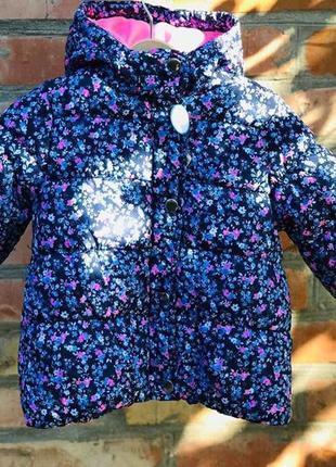 Комбинезон 2в1 зимний для девочки картерс (куртка+штаны) в наличии2 фото