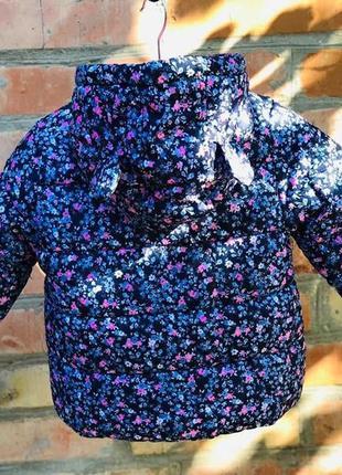Комбинезон 2в1 зимний для девочки картерс (куртка+штаны) в наличии3 фото