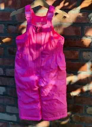 Комбинезон 2в1 зимний для девочки картерс (куртка+штаны) в наличии6 фото