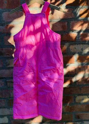 Комбинезон 2в1 зимний для девочки картерс (куртка+штаны) в наличии7 фото