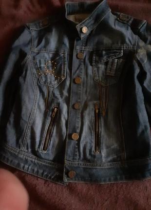 Куртка джинсовая жен фирм 46-48р 200грн