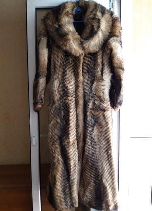 Шуба волчья р.46-48  1800грн