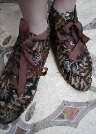 Ботинки коттоновые легкие, на низком ходу, р-р 38