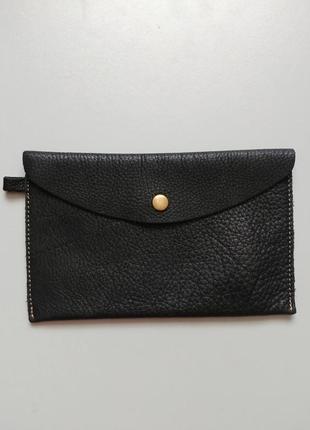 Внутренний кошелек в большую сумку натуральная кожа