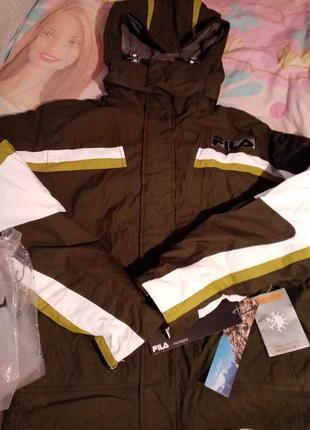 Куртка fila оригинал!!!нова!!! лыжная термо куртка фила fila