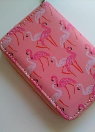 Есть другие варианты! хит! новый классный короткий кошелек на молнии розовый фламинго