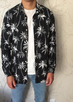 Нереально крутая гавайская рубашка h&m