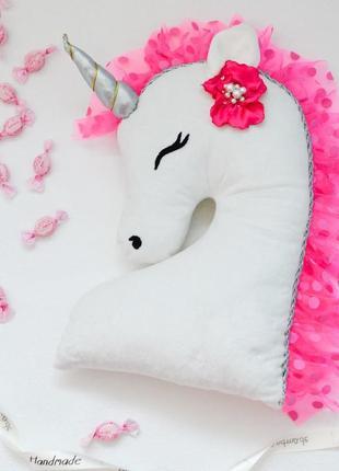 Единорожка подушка-игрушка