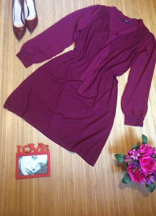 Стильное платье с шифоновыми рукавами,размер xxxl