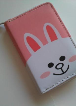 Есть другие варианты! новый классный короткий кошелек на молнии зайчик заяц зая