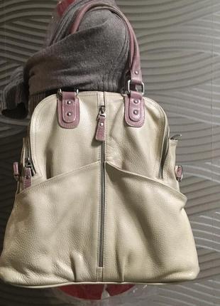 Кожаная сумка artis