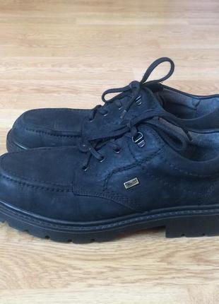Кожаные термо ботинки rieker германия 43 размера