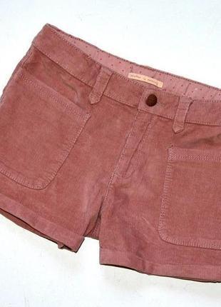 Zara. шорты на девочку из микро вельвета, как велюр. 9-10 лет. рос 140 см