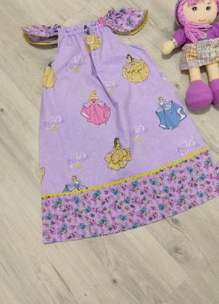 Нежная и милая детская ночнушка. платье для дома.
