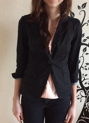 Черный пиджак new look