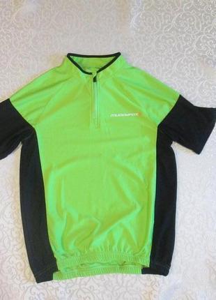 Велофутболка, футболка вело muddyfox на 12-13 лет