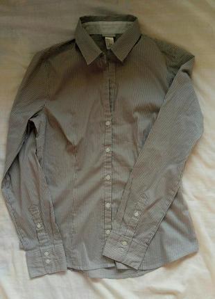 Класична рубашка в полоску