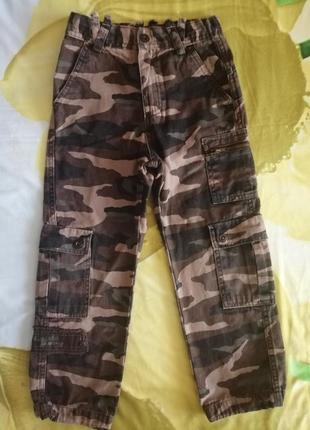 Военные штаны брюки комуфляжные джинсовые джинсы 116