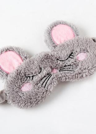 Маска для сна мышка 1458