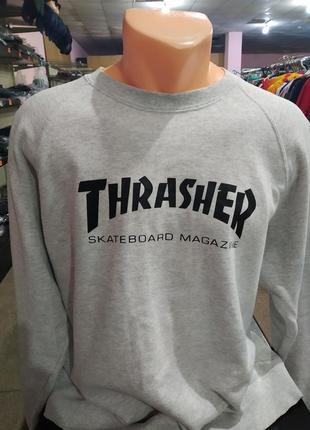 "Новый свитшот "" thrasher"""