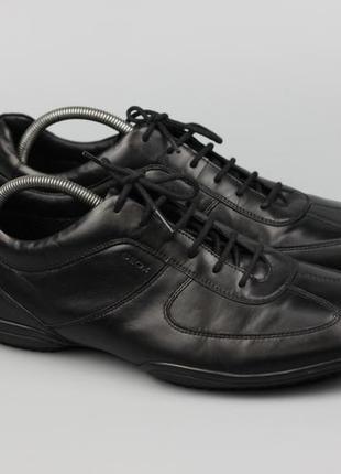 Фирменные кожаные кроссовки туфли мокасины