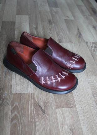 Шикарні туфлі camper оригінал шкіра