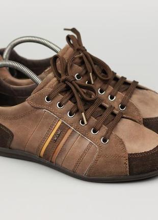 Фирменные кожаные кроссовки мокасины туфли