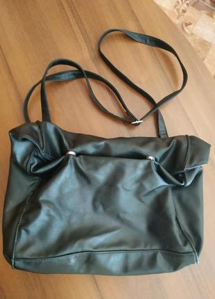 #розвантажуюсь сумка из мягкого кожзама
