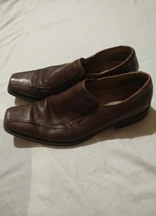 Кожаные туфли claudio conti