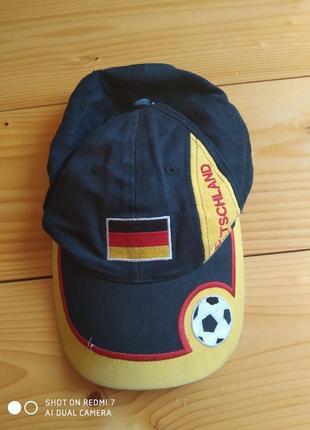 Кепка футбольний німечина бейсболка ог-56-58