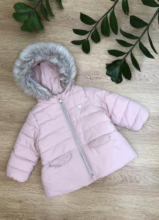 Стильная тёплая куртка 9-18 мес.