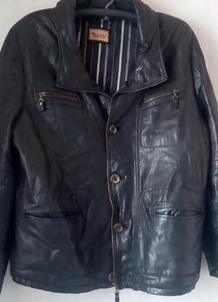 Кожаная куртка baggio rossini