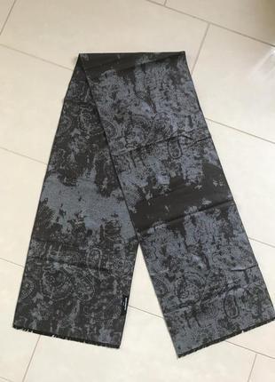 Шарф мужской стильный модный дорогой бренд belvenuto