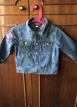 Куртка детская джинсовая tommy hilfiger