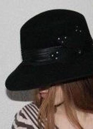 Шляпа фетр❤️осень/ зима