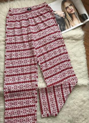 Пижамные штаны с орнаментом