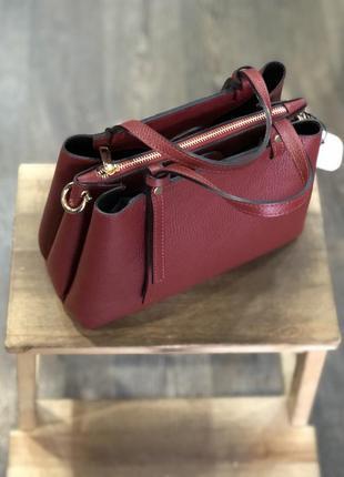 Бордовая сумка/бордова сумка
