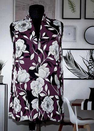 Блуза легкая в цветочный принт debenhams