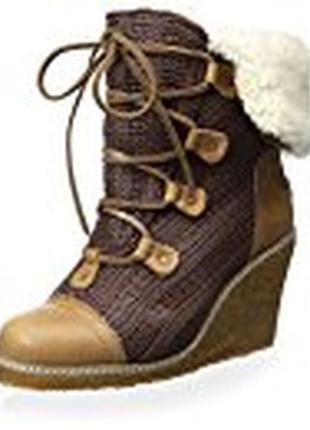 Зимние ботинки на натуральном меху australia luxe