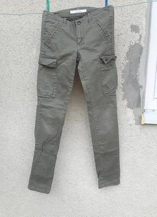 Класні котонові штани на дівчинку 14 р