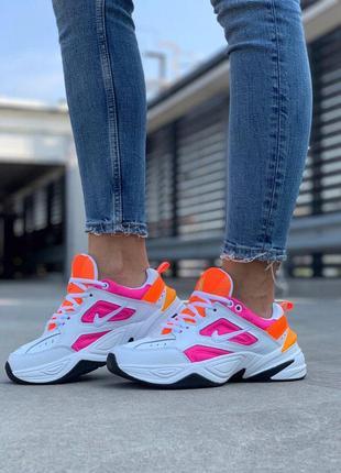 Женские кроссовки m2k tekno orange pink