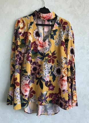 Блуза с красивым рукавчиком