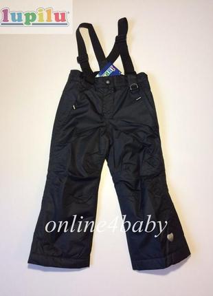 Детские зимние лыжные штаны lupilu на девочку 2-4 года