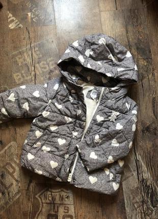 Тёплая зимняя куртка gap