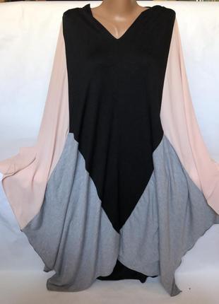 Эксклюзивное стильное платье большого размера