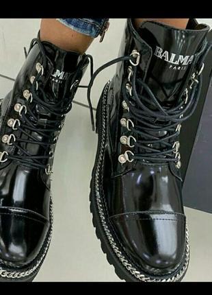 Ботинки в стиле balmain
